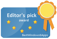 Best Windows 8 Apps, Editor's Pick Award